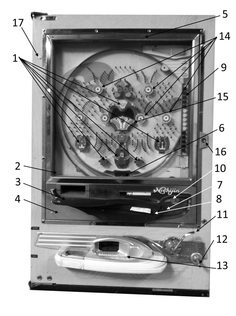 Parts Of Pachinko Machine
